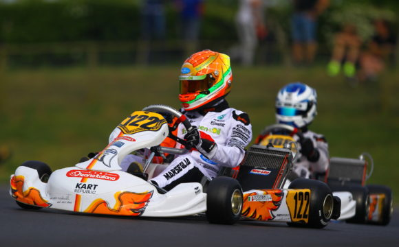 Leonardo Marseglia sets to take part in CIK-FIA event in Ampfing