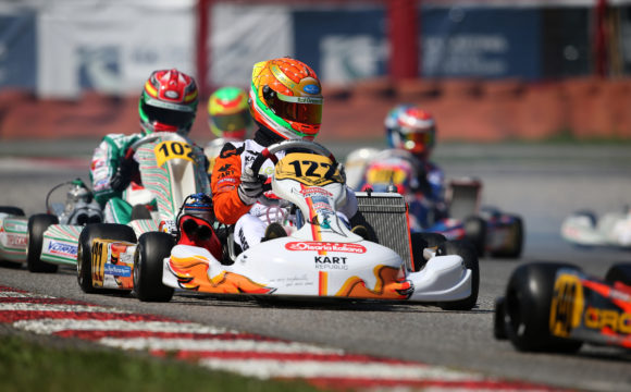 Leonardo Marseglia sets for the last CIK-FIA European Championship round in Essay