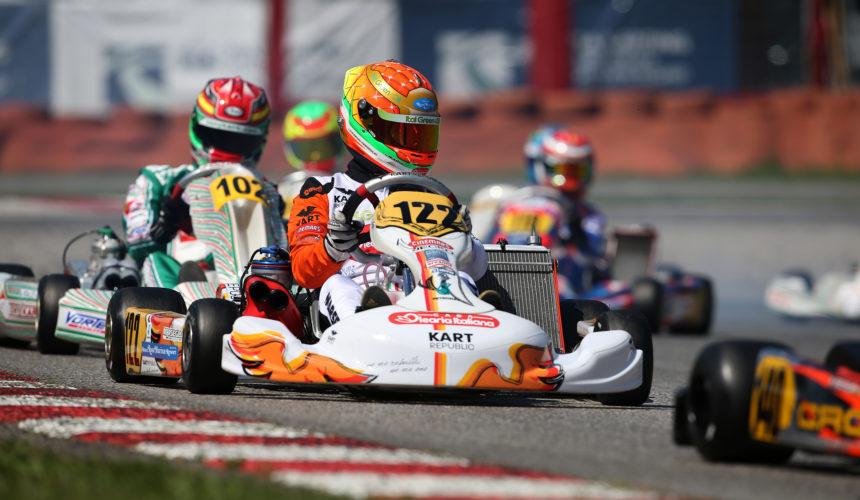 Leonardo Marseglia sets for the last CIK-FIA European Championship round in Essay