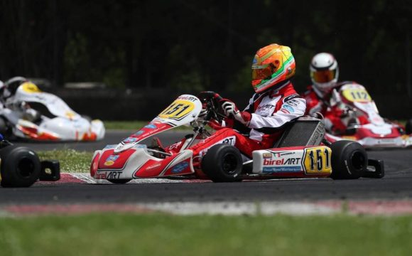 Leonardo Marseglia grabs 2nd at ACI Karting