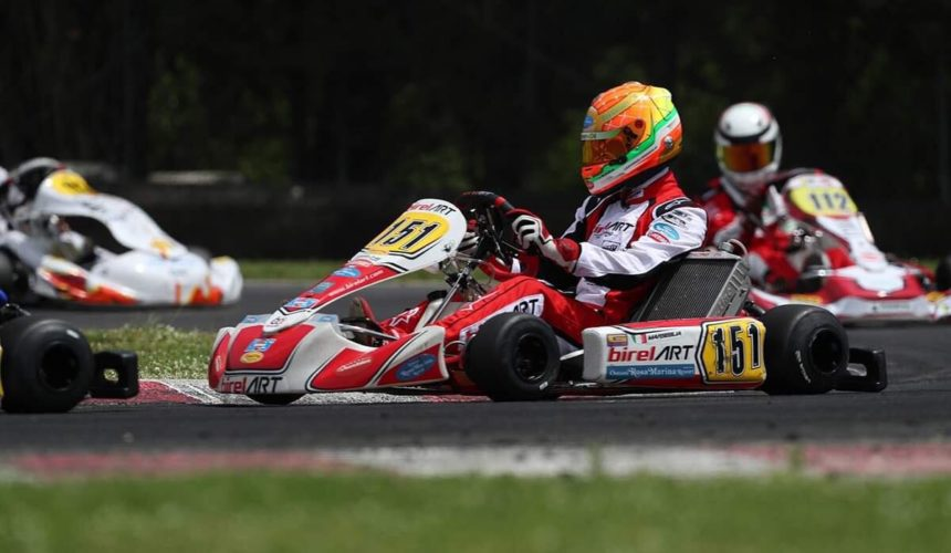 Leonardo Marseglia grabs 2nd at ACI Karting