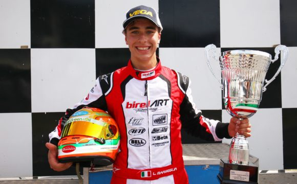 Leonardo Marseglia vince Gara 2 del Campionato Italiano ACI Karting a Sarno