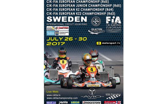 CIK-FIA European Championship OKJ rd.5 – Kristianstad (S), 30/07/17