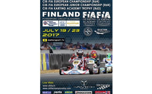 CIK-FIA European Championship OKJ rd.4 – Alahärmä (FIN), 23/07/17