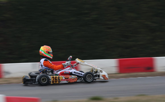 Leonardo Marseglia sets out to continue his WSK Super Master Series