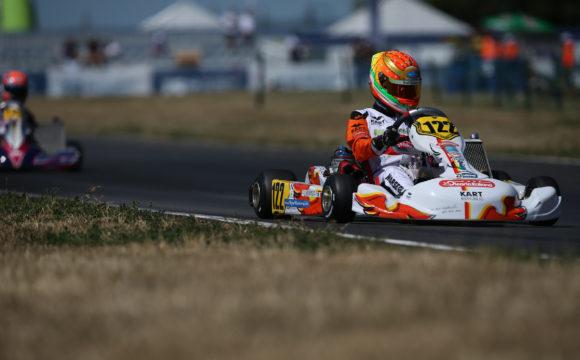 Leonardo Marseglia a Kristianstad per il Campionato del Mondo CIK-FIA