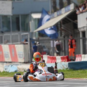 Leonardo Marseglia disputa il secondo round dell'europeo CIK-FIA al Paul Fletcher International