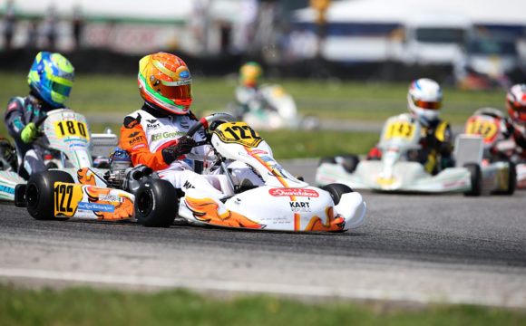 Solid P6 at the CIK-FIA European Championship for Leonardo Marseglia
