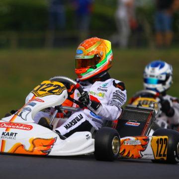 Leonardo Marseglia prende parte al round europeo CIK-FIA ad Ampfing