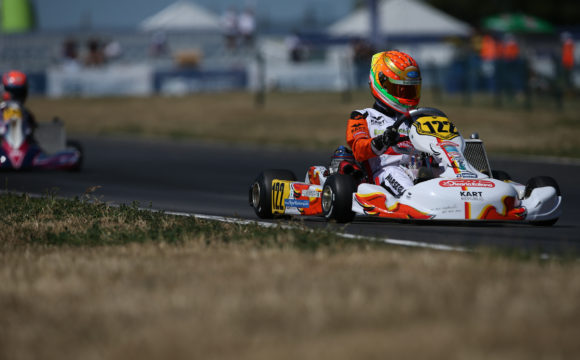 Leonardo Marseglia in Kristianstad for the CIK-FIA World Championship