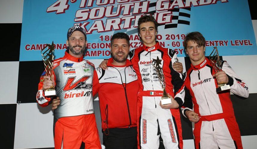 """Leonardo Marseglia domina il 4° Trofeo """"South Garda Karting"""""""