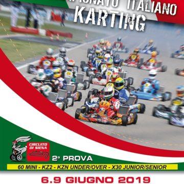 ACI Karting Italian Championship – Siena (ITA), 09/06/2019