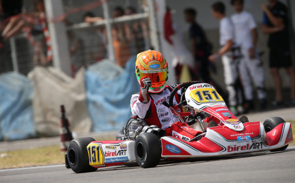 Leonardo Marseglia triumphs in the ACI Karting