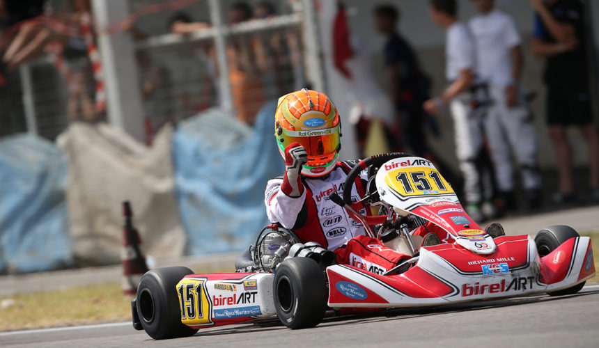 Leonardo Marseglia triumphs in the ACI Karting