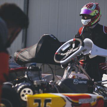 Leonardo Marseglia in pista ad Adria per la prima gara del 2021