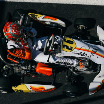 Another top ten for Marseglia in the second round of WSK Super Master Series
