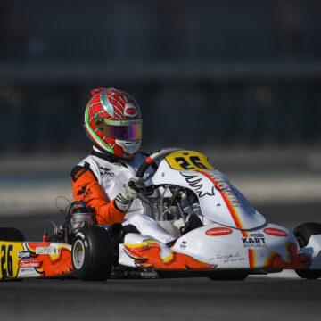 Leonardo Marseglia mette a segno una top ten in un fine settimana competitivo ad Adria!