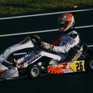 Leonardo Marseglia returns to Lonato for the start of the WSK Euro Series