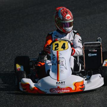 Leonardo Marseglia at the DKM in Wackersdorf to prepare the European Championship