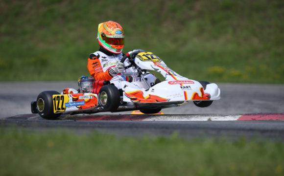 Leonardo Marseglia's weekend in Ampfing didn't take off