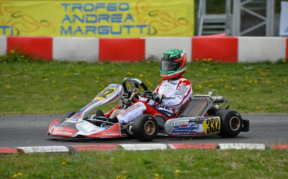 Margutti, a podium trophy