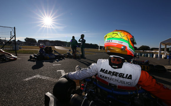 An engine failure prevents Leonardo Marseglia from taking home a solid result in Essay