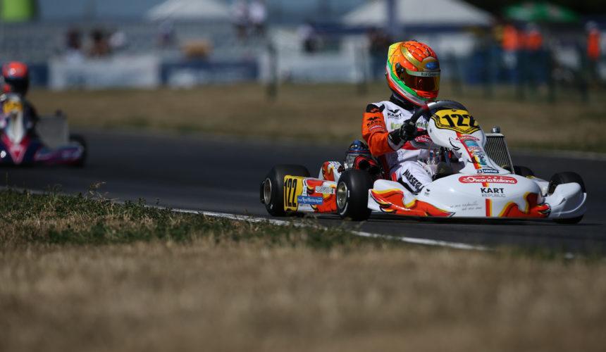 Leonardo Marseglia in Kristianstad for the CIK-FIA World Championship