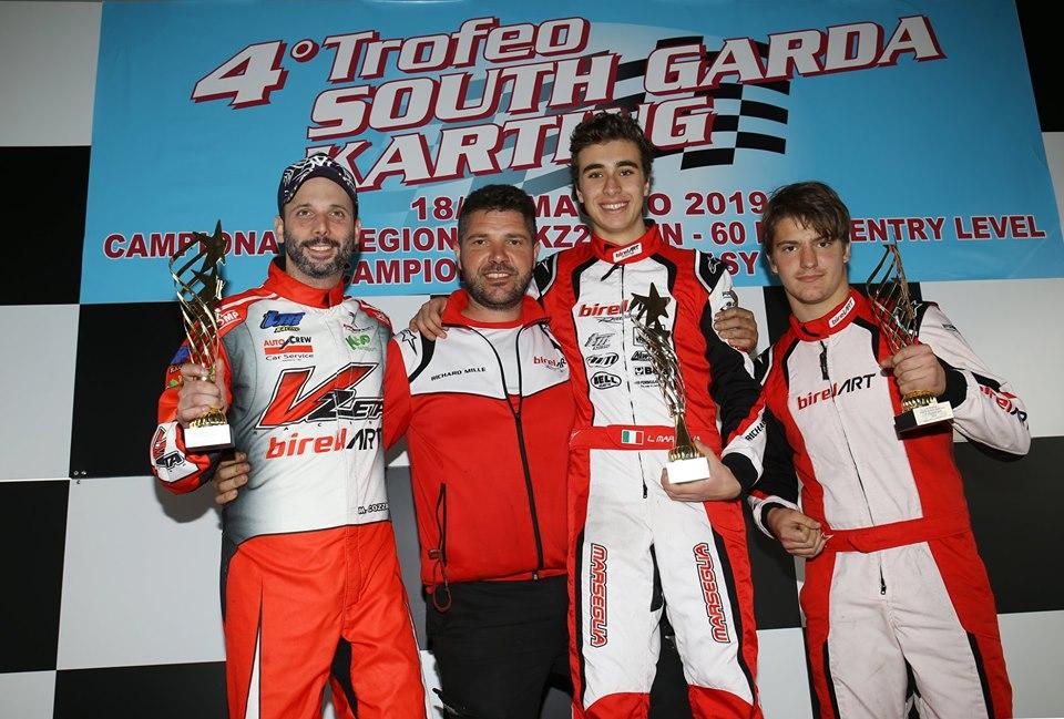 Leonardo Marseglia vince il 4° Trofeo South Garda Karting. (photo: FM Press)