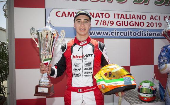 Leonardo Marseglia grabs 2nd in the ACI Karting Italian Championship