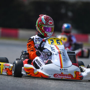 Difficult last WSK Super Master Series round for Marseglia