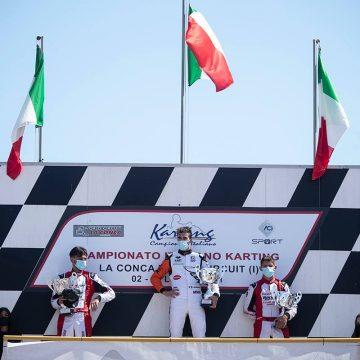 Leonardo Marseglia back on the podium in his home weekend at Muro Leccese