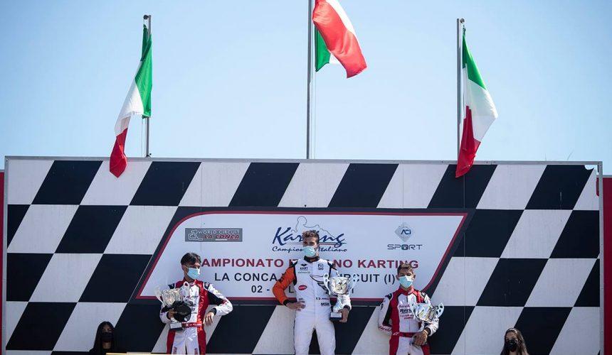 Leonardo Marseglia torna sul podio nel weekend di casa a Muro Leccese