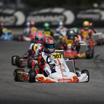 Leonardo Marseglia in the top ten of the FIA Karting European Championship 2021